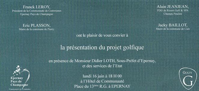 invitation réunion publique