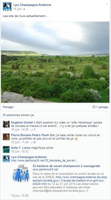 LPO  facebook 1